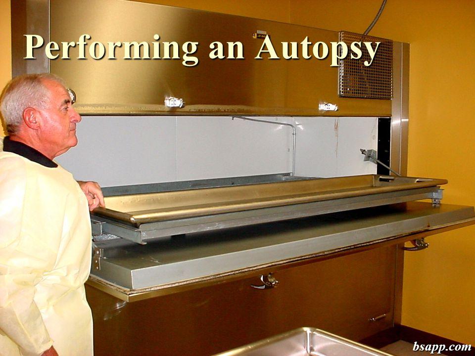 Performing an Autopsy bsapp.com