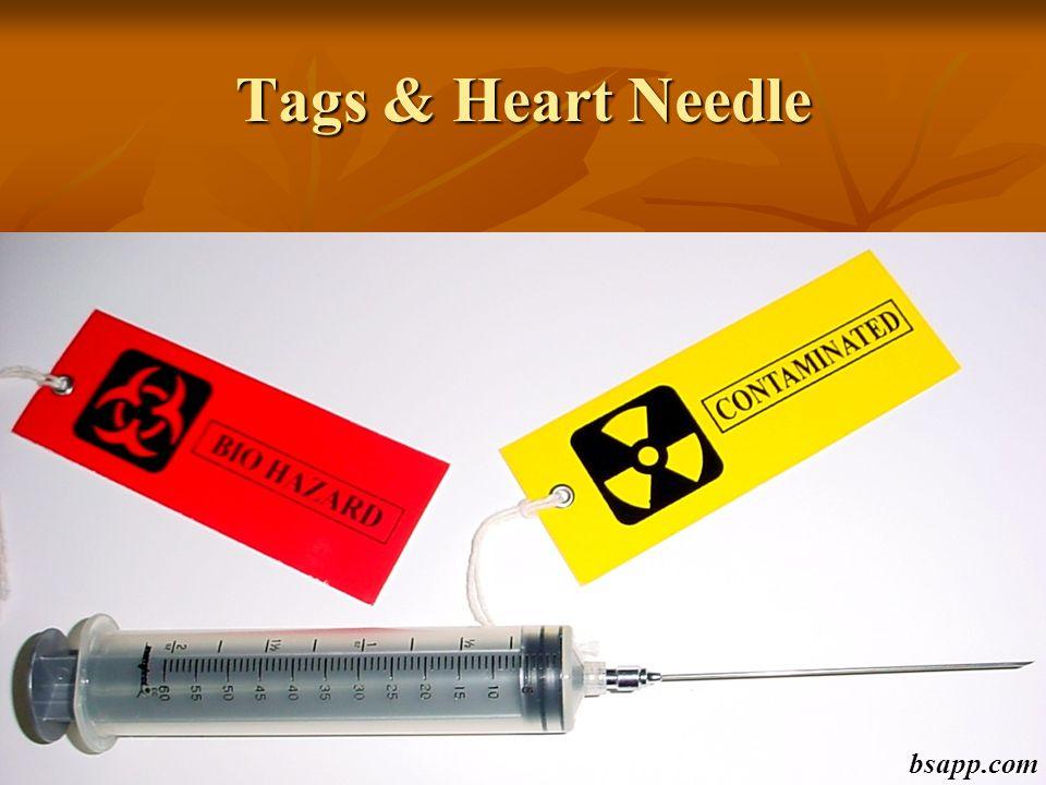 Tags & Heart Needle bsapp.com