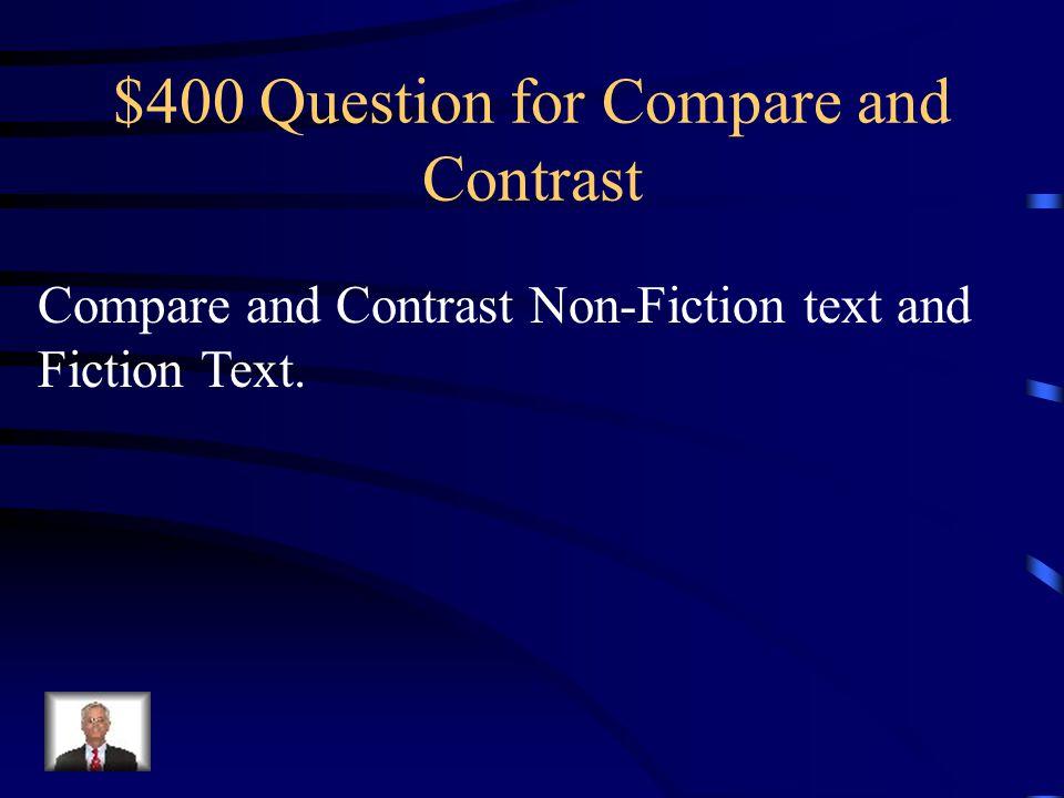 $300 Answer for Compare and Contrast Miata felt shaken; Rudy felt confident.