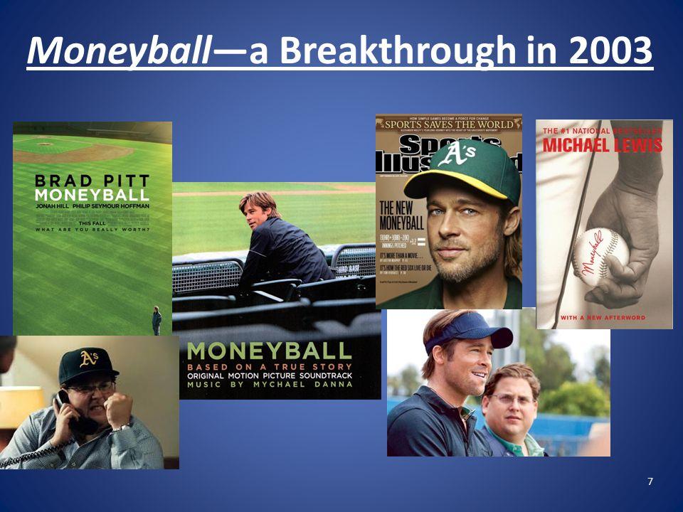 7 Moneyball—a Breakthrough in 2003