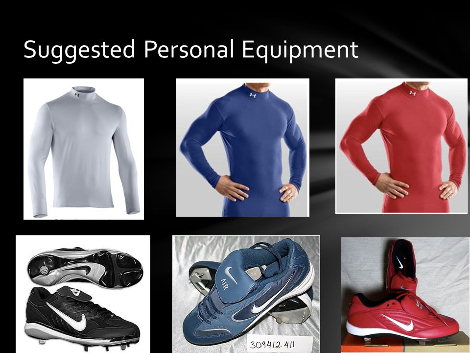 Suggested Personal Equipment