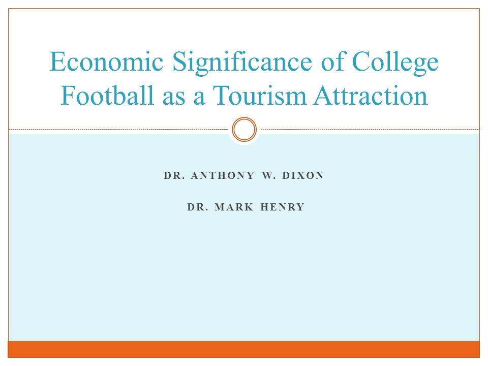 DR. ANTHONY W. DIXON DR.