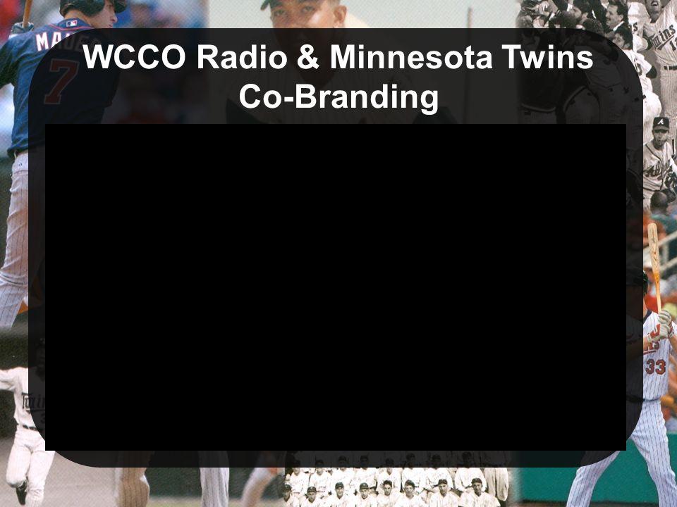 WCCO Radio & Minnesota Twins Co-Branding