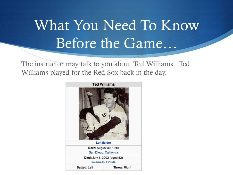 About Ted Williams