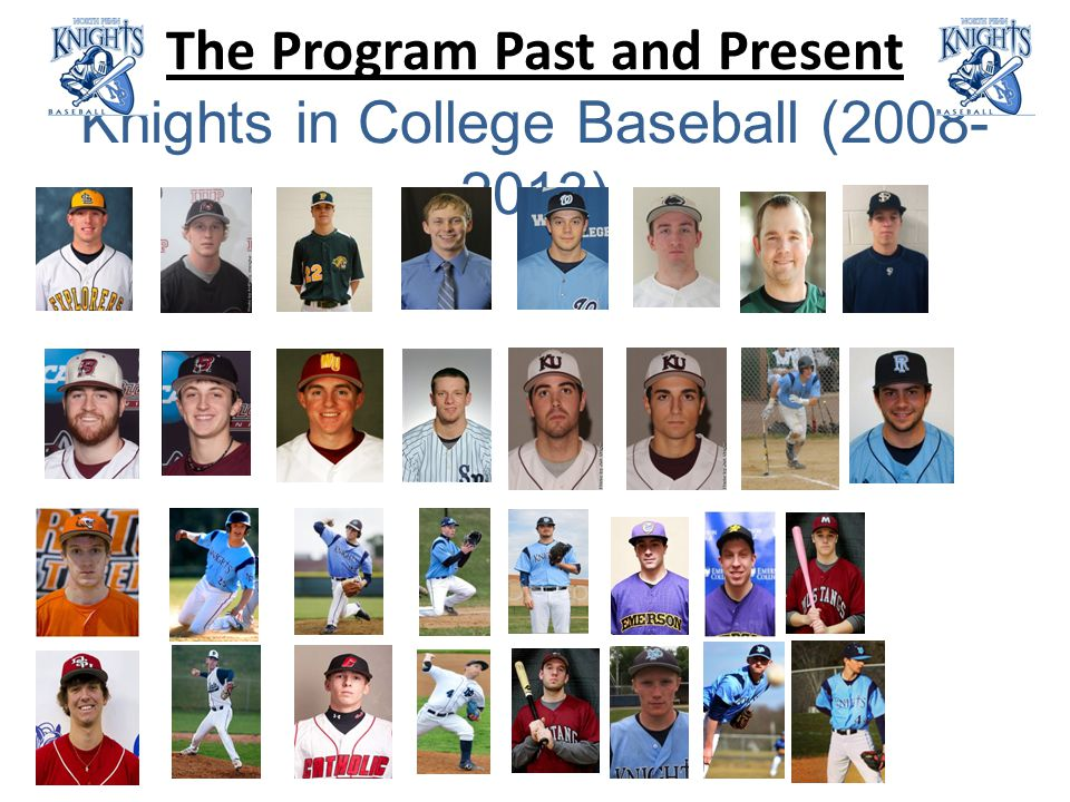 The Program Past and Present Knights in College Baseball (2008- 2013)