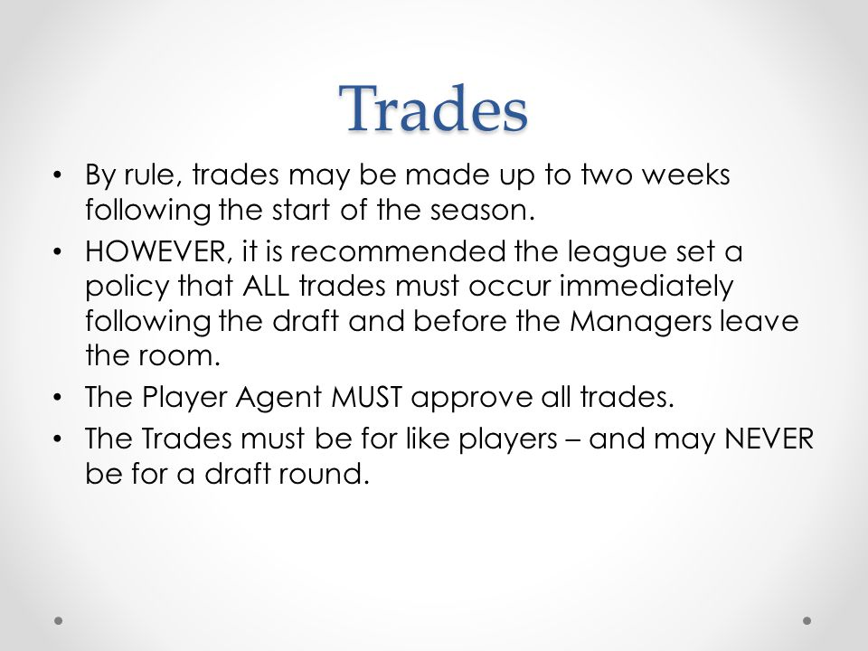 Post Draft Registration forms and Rosters o Player Agent must submit the rosters to LLBB through the Data Center.