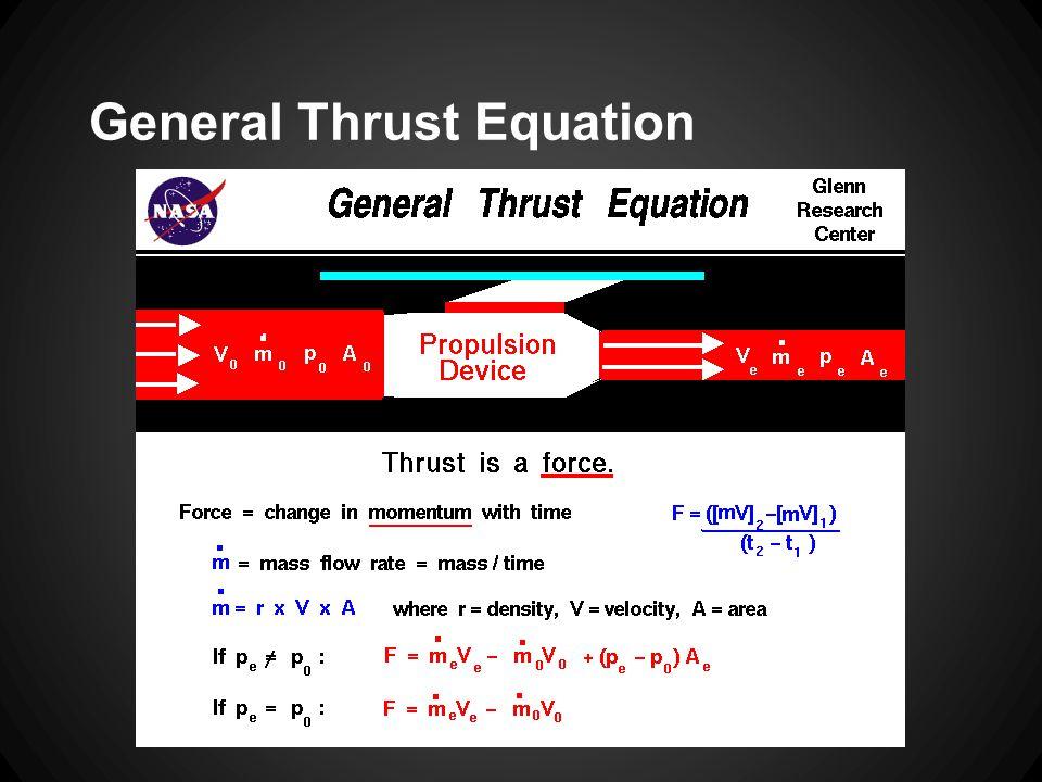 General Thrust Equation