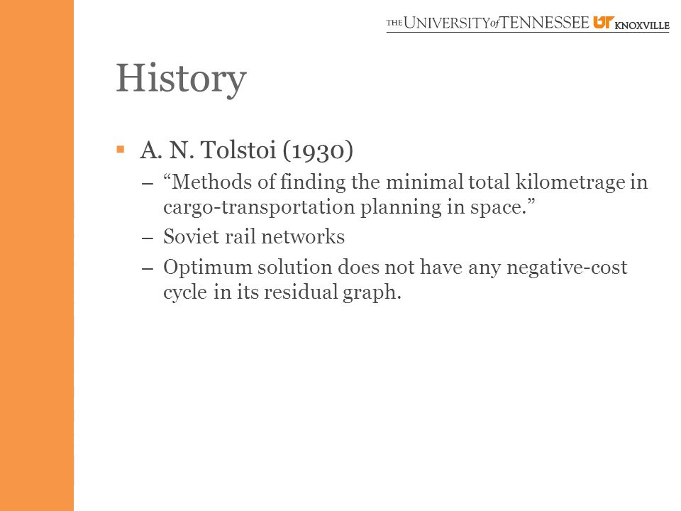 History  A.N.