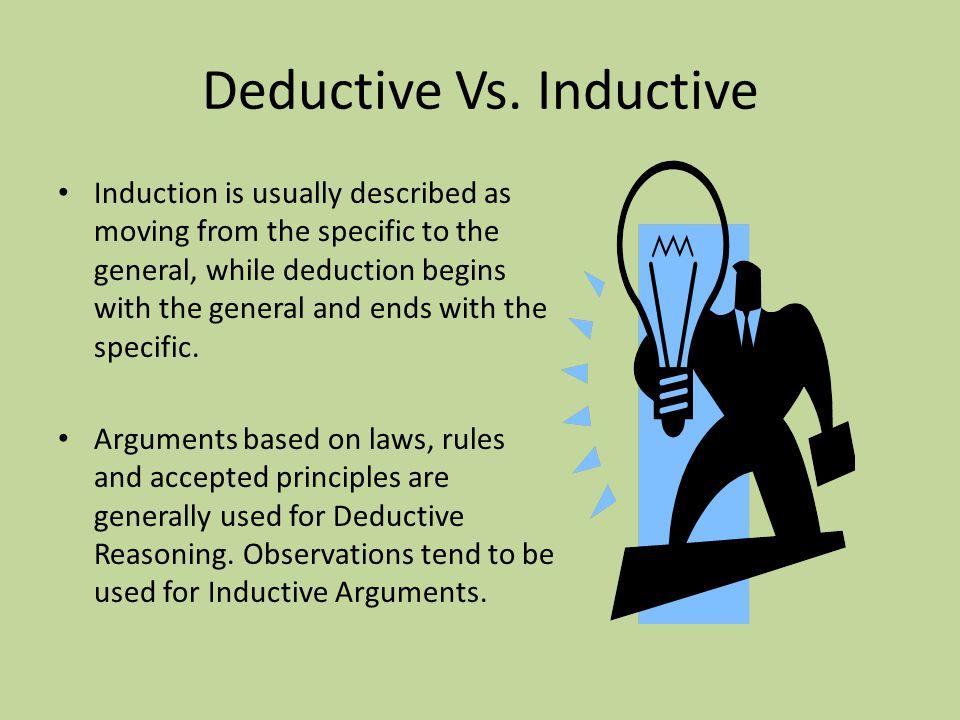 Deductive Vs.