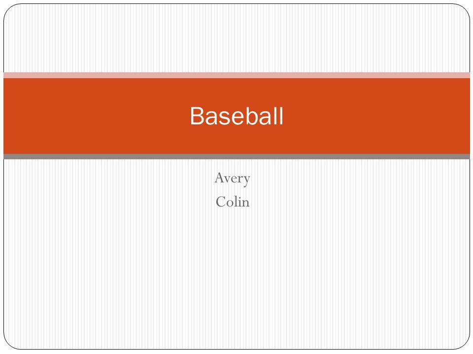 Avery Colin Baseball