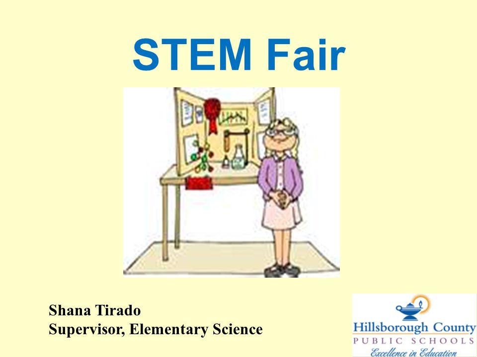 Creating a testable STEM Fair question