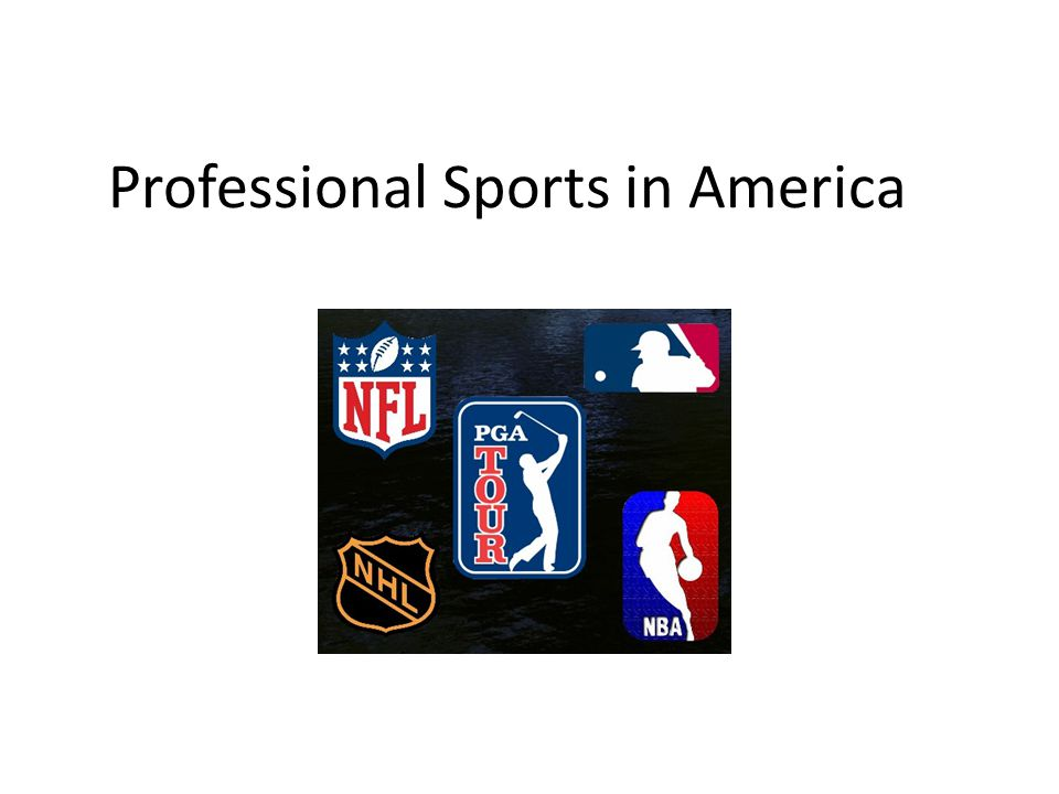 Professional Sports in America