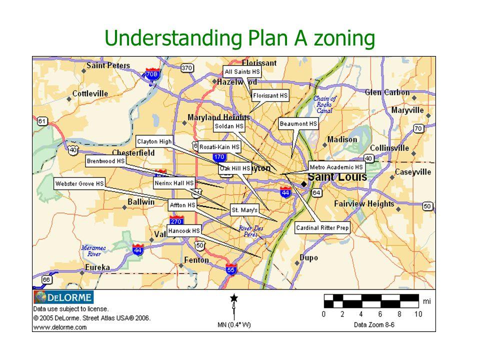 Understanding Plan A zoning