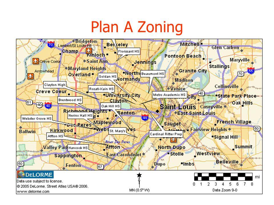 Plan A Zoning