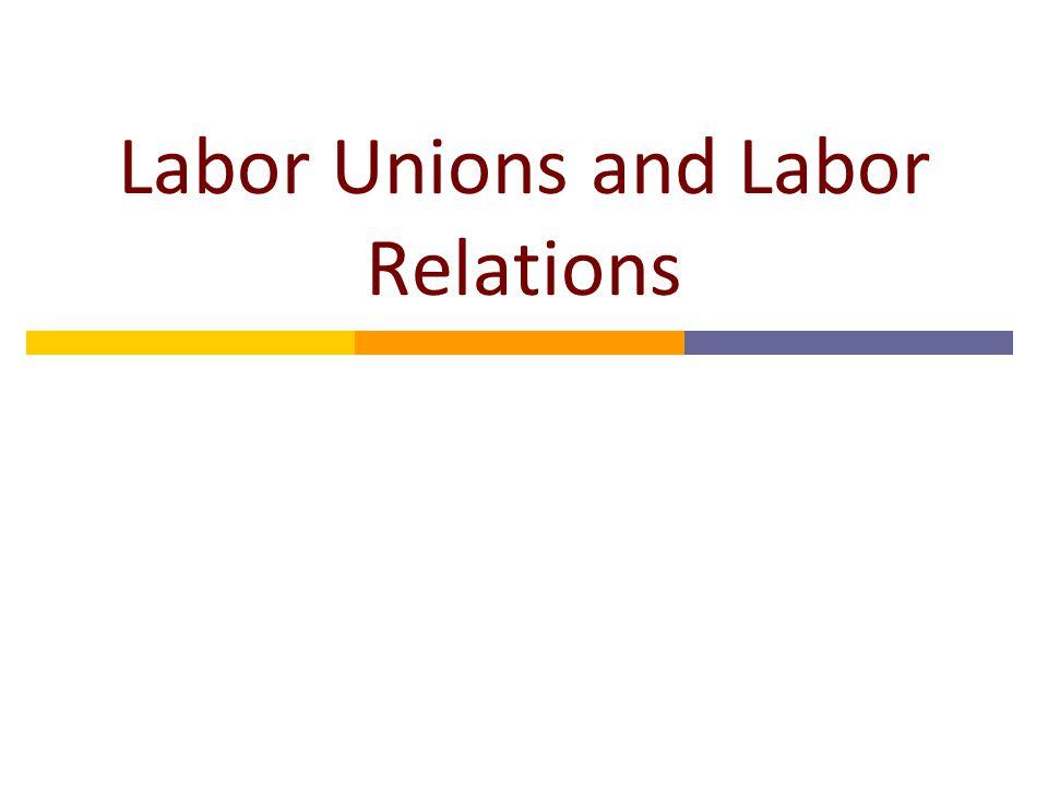 Economics of Labor Unions  Free Market: w N, L N  Union Outcome: w U, L U Unemployment Inefficiency (DWL) D SNSN SUSU LULU LNLN Labor wUwU wNwN DWL unemployment $