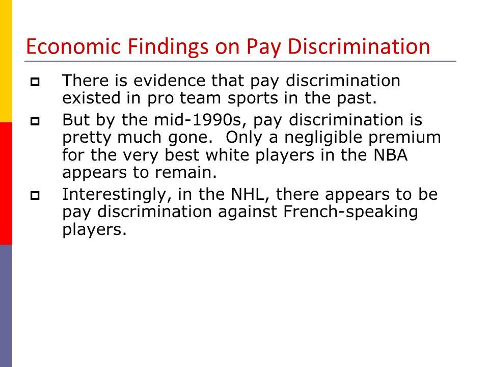 Role Discrimination.