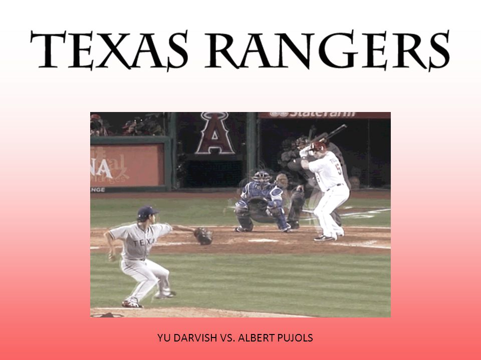 YU DARVISH VS. ALBERT PUJOLS
