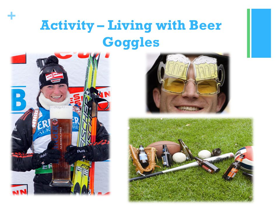 + Activity – Living with Beer Goggles