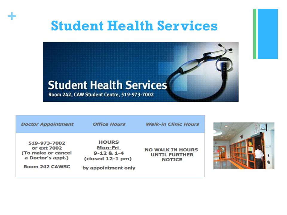+ Student Health Services