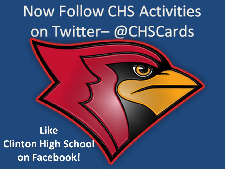 Like Clinton High School on Facebook!