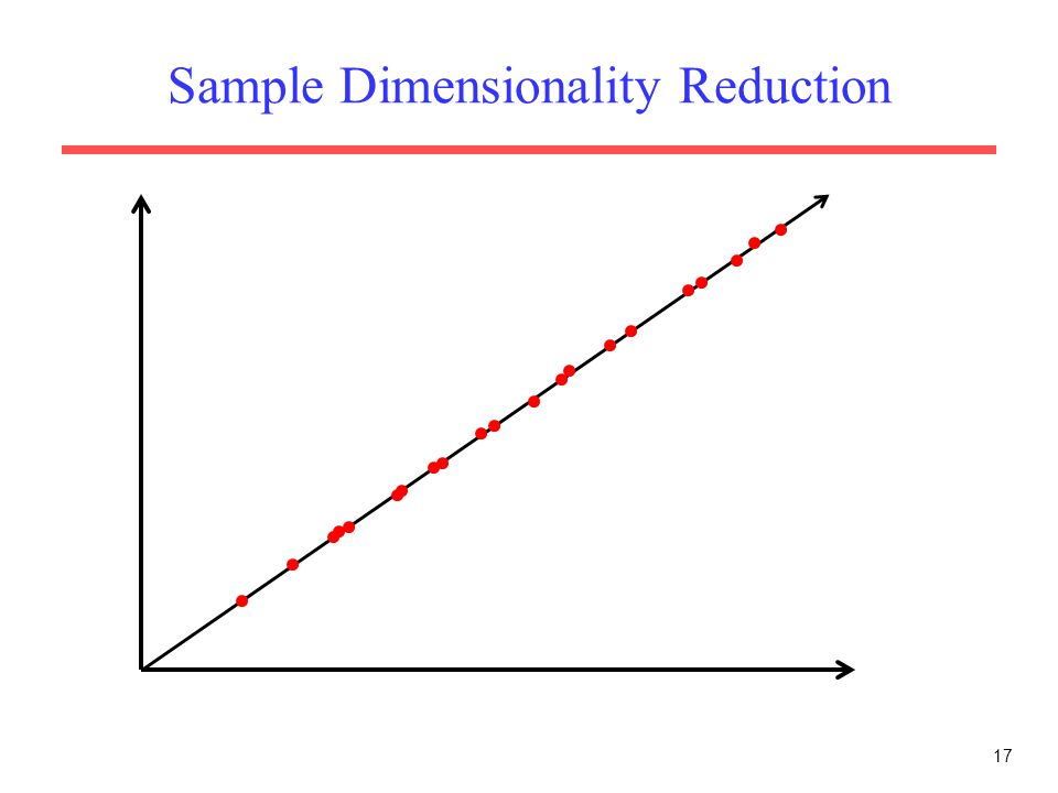 Sample Dimensionality Reduction 17