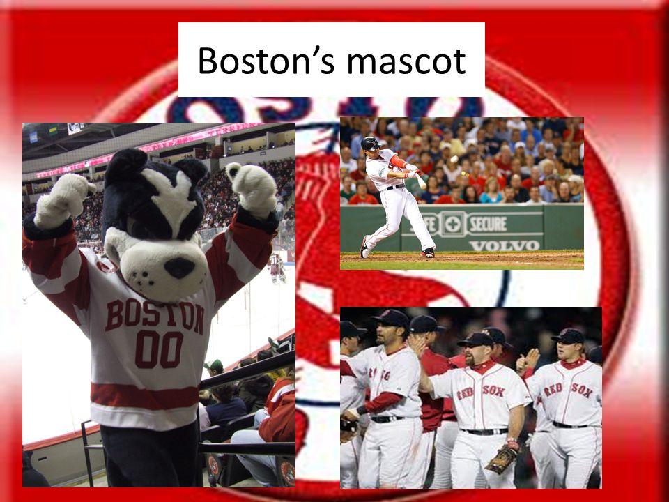 Boston's mascot
