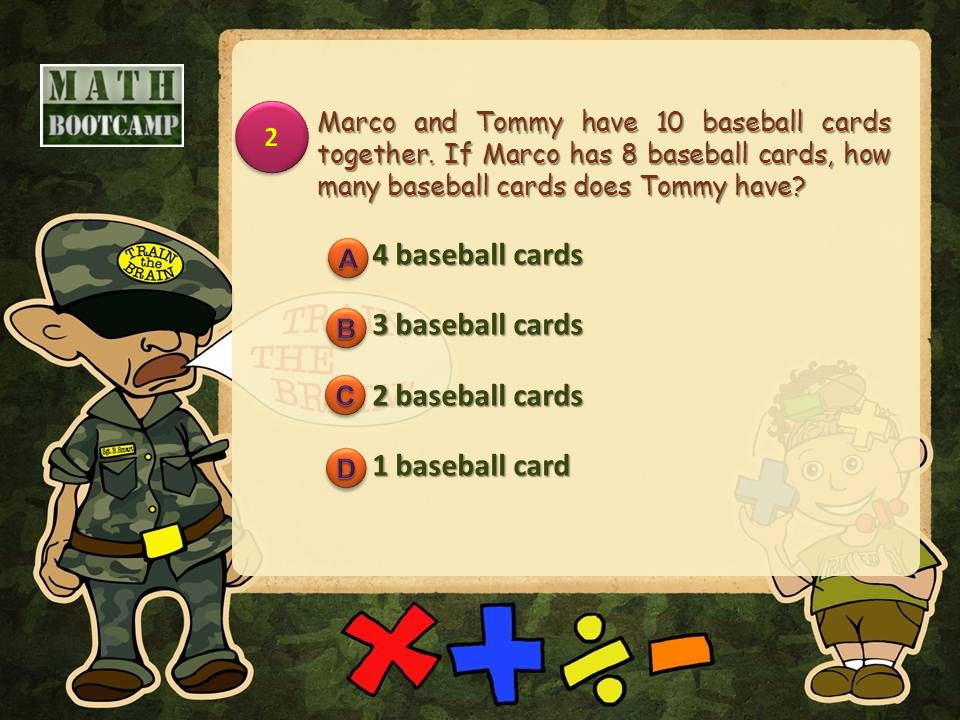 Marco and Tommy have 10 baseball cards together.
