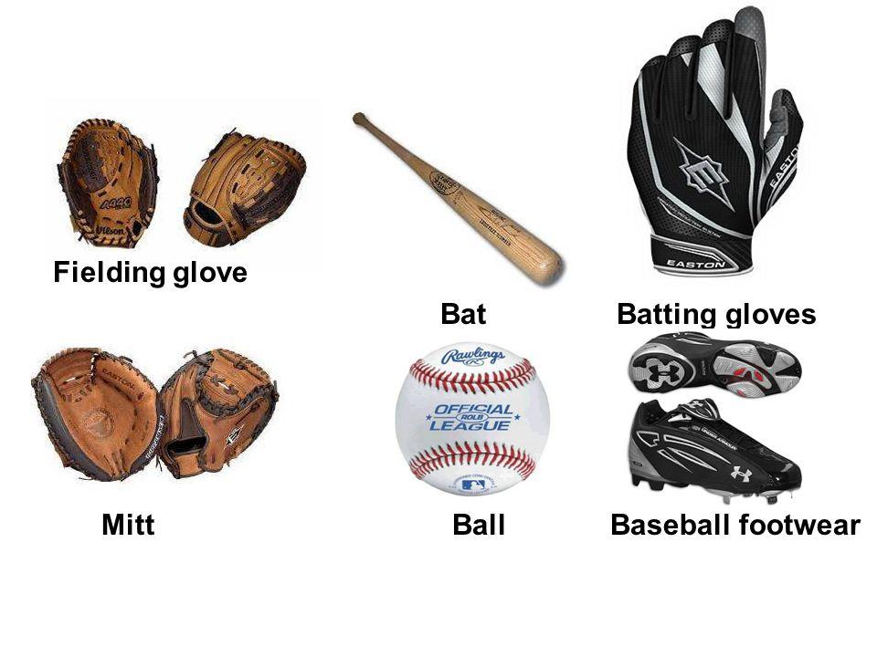 Fielding glove Bat Batting gloves Mitt Ball Baseball footwear