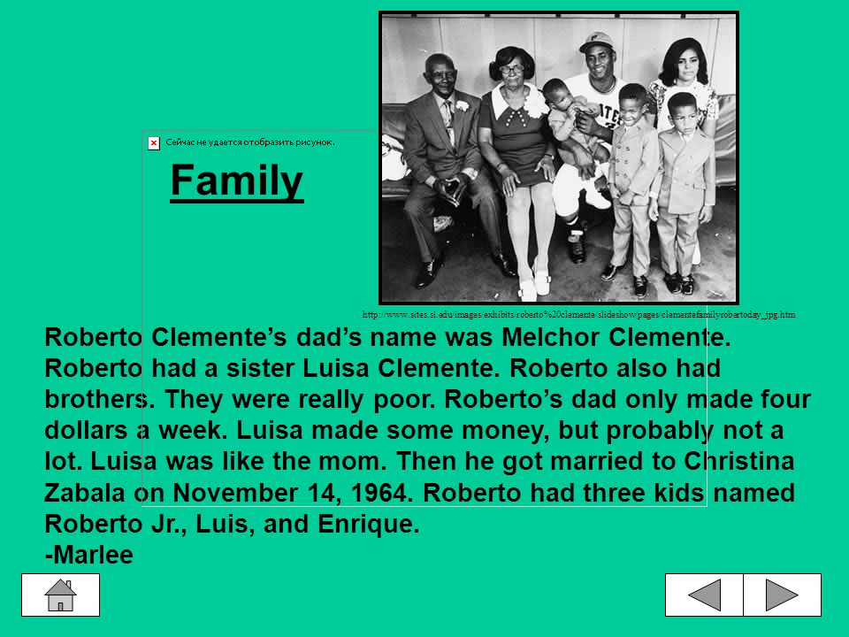 When Roberto Clemente was growing up he really wanted a bike so he carried his neighbors milk tons of miles from the store for 10 cents a day.