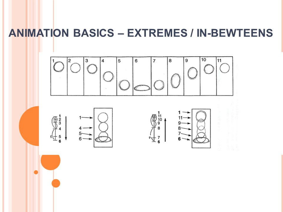 ANIMATION BASICS – EXTREMES / IN-BEWTEENS