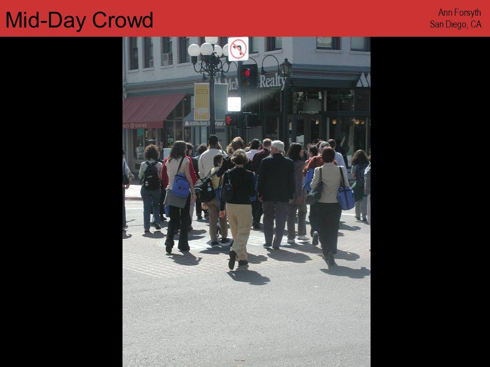 www.annforsyth.net Mid-Day Crowd Ann Forsyth San Diego, CA
