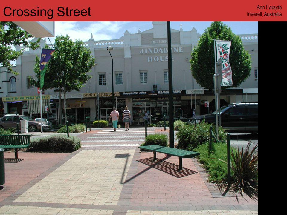 www.annforsyth.net Crossing Street Ann Forsyth Inverell, Australia