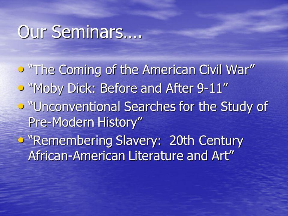 Our Seminars….