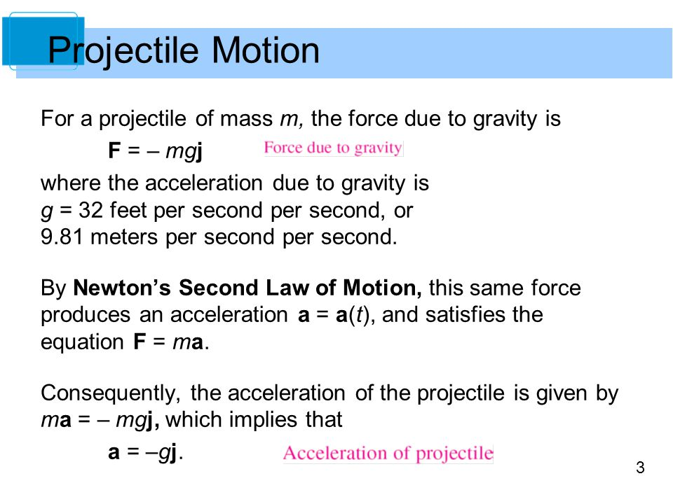 4 A projectile of mass m is launched from an initial position r 0 with an initial velocity v 0.