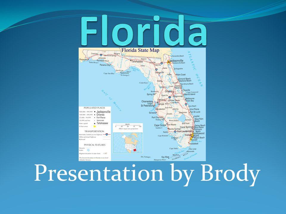Presentation by Brody