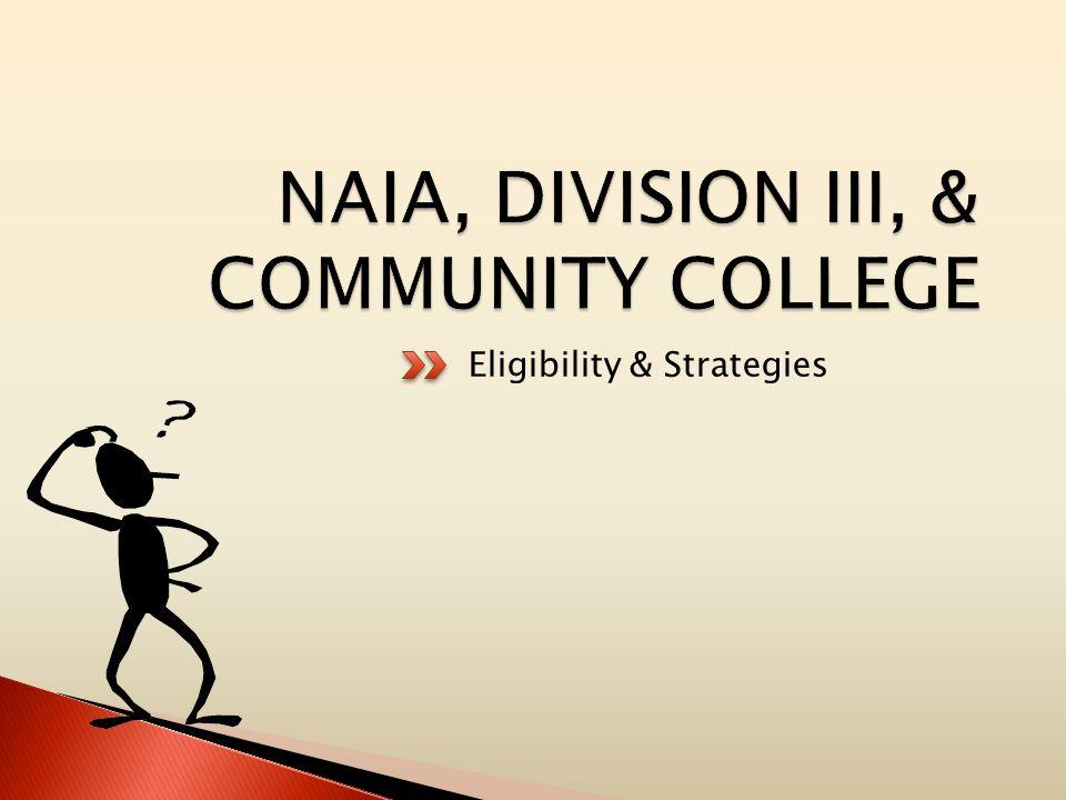 Eligibility & Strategies