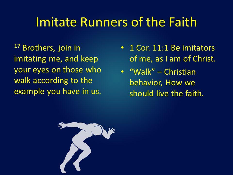Who Should We Imitate.