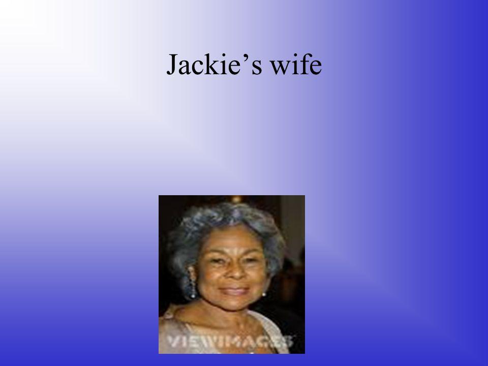 Jackie stealing home