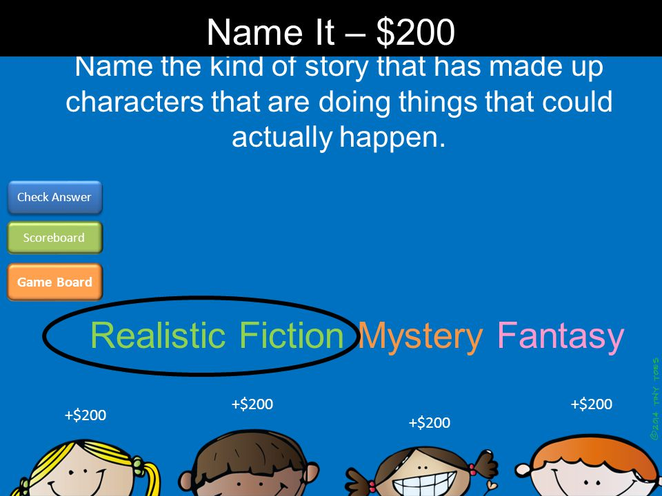 Name the kind of story that has characters who solve crimes or other puzzling events.