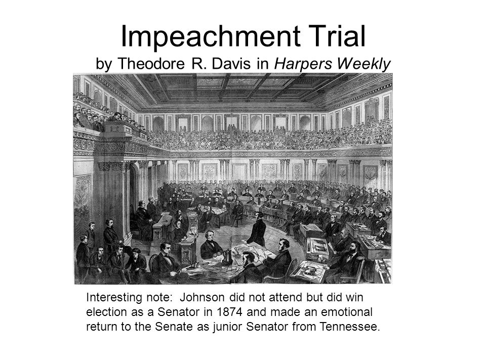 Impeachment Trial by Theodore R.