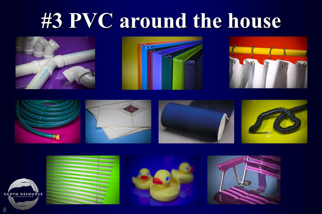 PVC around the house 6 #3 PVC around the house