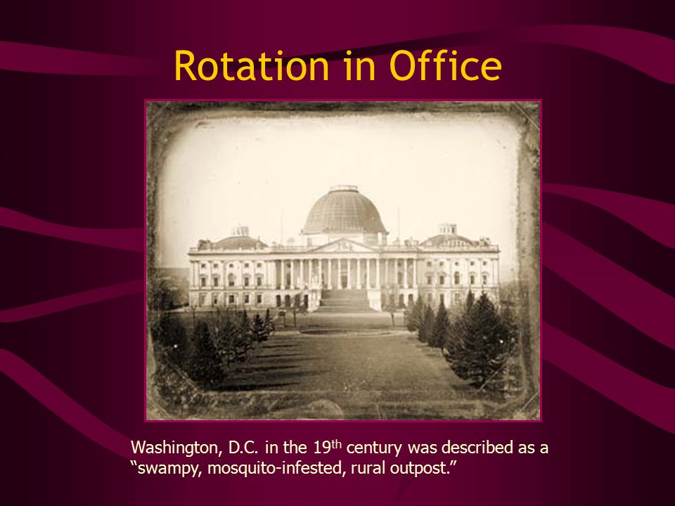 Rotation in Office Washington, D.C.