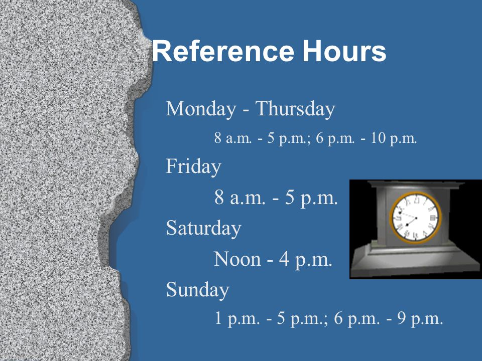 Reference Librarians are here to help you. All you need to do is ask!