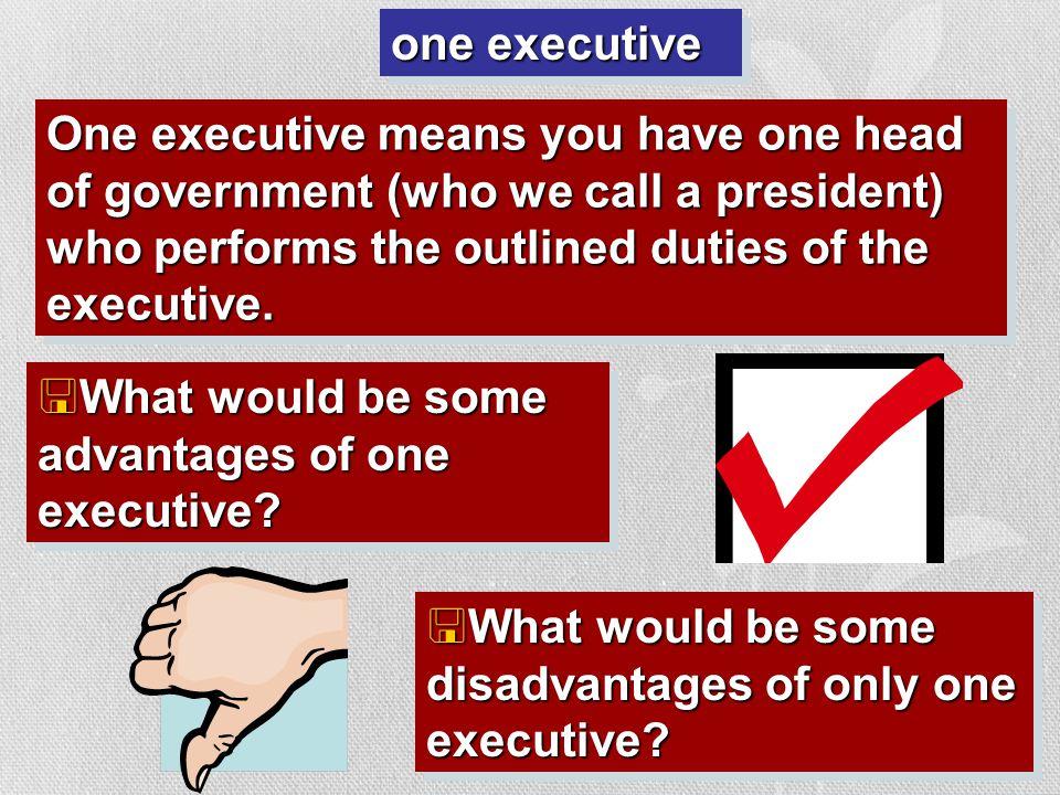 III A. How many executives