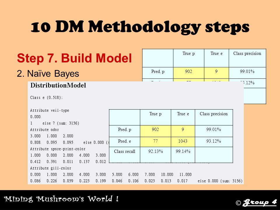 10 DM Methodology steps Step 7. Build Model 2.