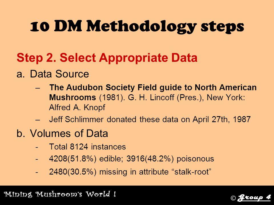 10 DM Methodology steps Step 2.