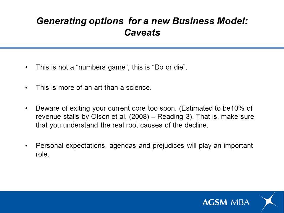 Leverage market intelligence through a disruptive Business Model.