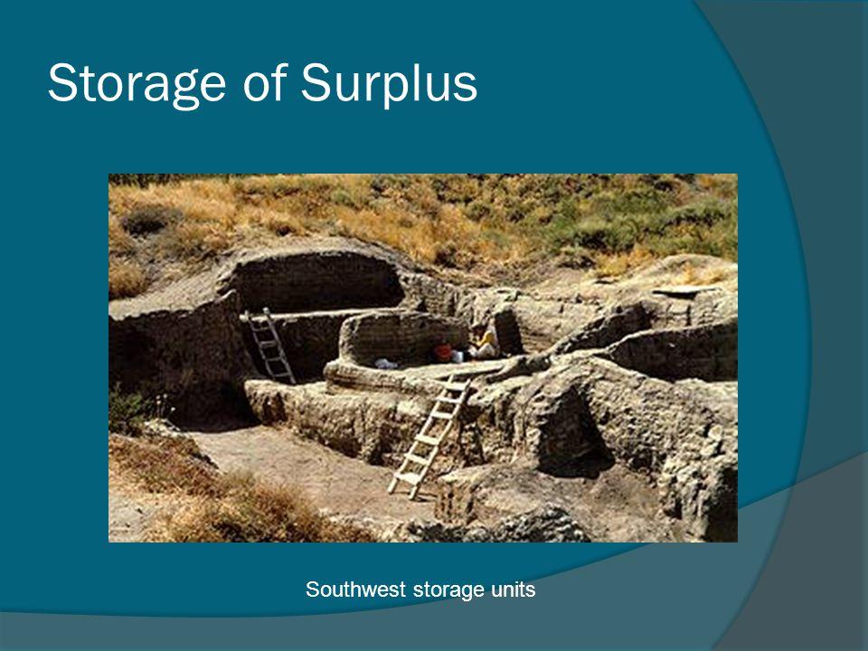 Storage of Surplus Southwest storage units