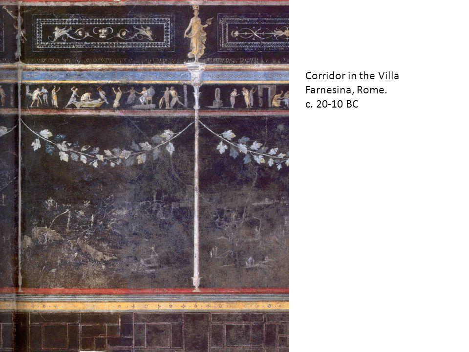 Corridor in the Villa Farnesina, Rome. c. 20-10 BC