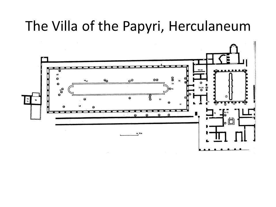 The Villa of the Papyri, Herculaneum